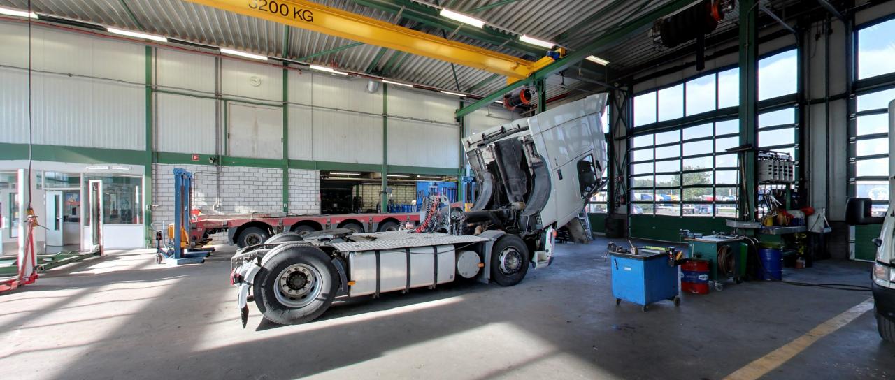 AVT Truck&trailer Moerdijk werkplaats